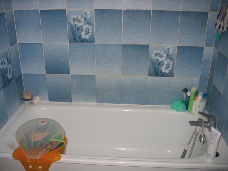 carrelage mural salle de bain - Recouvrir Un Carrelage Mural De Salle De Bain